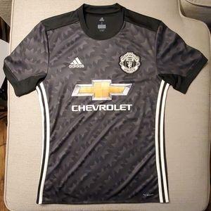 2017-2018 Man Utd Adidas Away Football Shirt